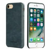 Чехол Jisoncase для iPhone 8/7 Leather Blue