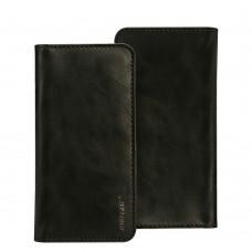 Чехол-кошелек Jisoncase для iPhone универсальный Leather Black