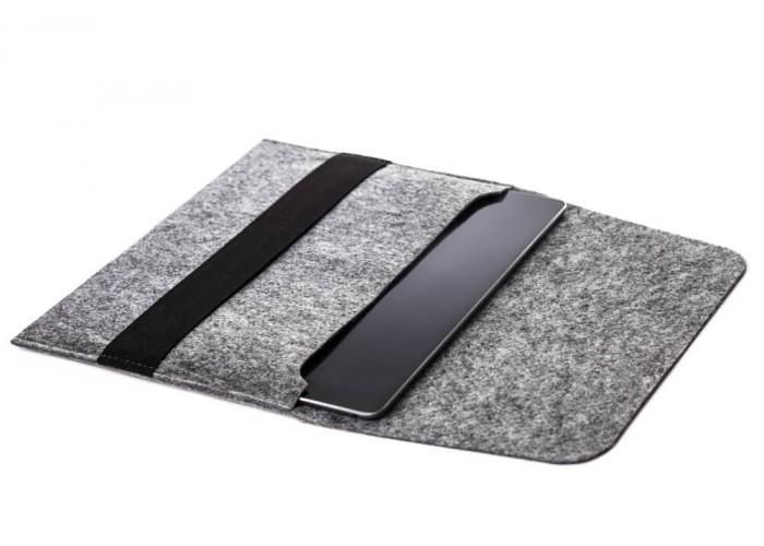 Светлый войлочный чехол-конверт для iPad 9.7/10.5 горизонтальный (GT03)