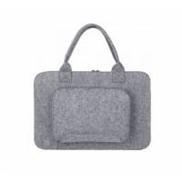 """Войлочный чехол-сумка Gmakin GS01-15 (Macbook Pro 15"""") Grey"""