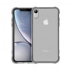 Силиконовый черно-прозрачный чехол Hoco для iPhone Xr