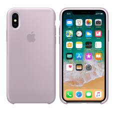 Силиконовый чехол Apple Silicone Case Lavander для iPhone Xs Max