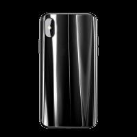 Чехол Baseus Laser Luster Glass Case для iPhone X/XS ( черный )