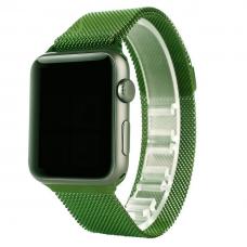 Ремешок для Apple Watch Milanese loop 38/42мм Зеленый