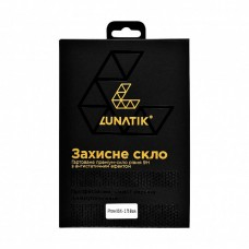 Сверхпрочное защитное стекло Lunatik для iPhone X/Xs