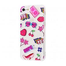 """Силиконовый чехол для iPhone 7/8 Lovely """"NOPE OR YES"""""""