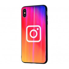 """Чехол для iPhone Xs Max Benzo """"Instagram"""""""