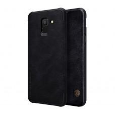 Чехол-книжка для Samsung Galaxy J6 2018 Nillkin QIN Черный