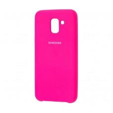 Чехол для Samsung Galaxy J6 2018 SILKY Розовый
