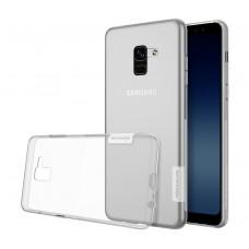 Чехол Nilkin Nature для Samsung Galaxy A8 Прозрачный