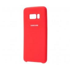 Чехол для Samsung Galaxy S8 Silky Красный