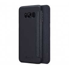 Чехол-книжка для Samsung Galaxy S8 Nillkin Sparkle Черный