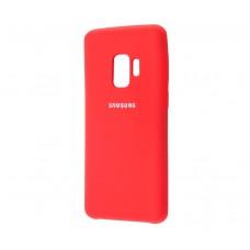 Чехол для Samsung Galaxy S9 Silky Красный