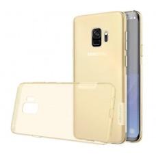 Чехол Nilkin Nature для Samsung Galaxy S9 Прозрачно-золотистый