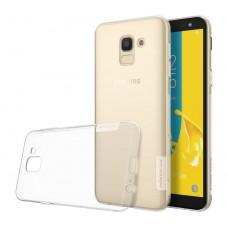 Чехол Nilkin Nature для Samsung Galaxy J6 2018 Прозрачный