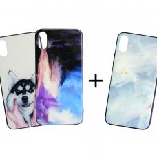 Набор 2 +1 Glass Case: Третий чехол в подарок!