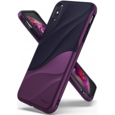 Чехол Ringke Wave для Apple iPhone XS Max Metallic Purple