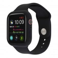 Силиконовый чехол-ремешок для Apple Watch 38/40/42/44мм Black