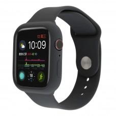 Силиконовый чехол-ремешок для Apple Watch 38/40/42/44мм Charcoal Gray