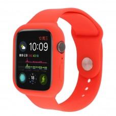 Силиконовый чехол-ремешок для Apple Watch 38/40/42/44мм Red