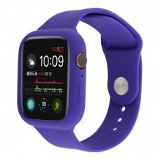 Силиконовый чехол-ремешок для Apple Watch 38/40/42/44мм Ultra Violet