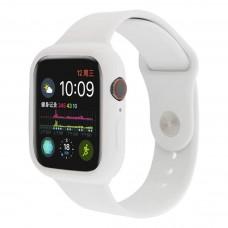 Силиконовый чехол-ремешок для Apple Watch 38/40/42/44мм White