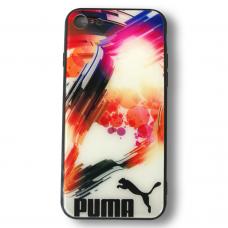 "Чехол для iPhone 7/8 Glass ""Puma"" multi"