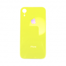 Чехол для iPhone Xr Glass Logo Case Yellow ( жёлтый )