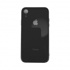Чехол для iPhone Xr Glass Logo Case Black ( Черный )