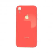 Чехол для iPhone Xr Silicone Logo Case Coral ( кораловый )