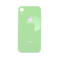 Чехол для iPhone Xr Glass Logo Case Green ( зеленый )