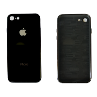 Чехол для iPhone 6/6s Glass Logo Case Black ( Черный )
