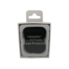 Чехол для AirPods Case Protection Black (Черный)