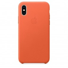 Apple Leather Case Sunset для iPhone XS Max