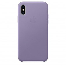 Apple Leather Case Lilac для iPhone Xs Max