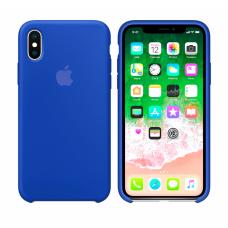 Силиконовый чехол Apple Silicone Case Ultra Blue для iPhone XS Max