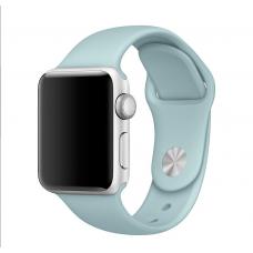 Силиконовый ремешок для Apple Watch 38/42мм Turqauoise