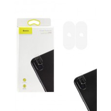 Защитное стекло Baseus на камеру для iPhone X / Xs