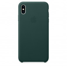 Apple Leather Case Forest Green для iPhone Xr