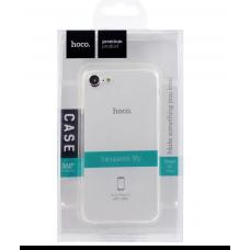 Прозрачный силиконовый чехол Hoco Tranprarent TPU Slim iPhone 7/8