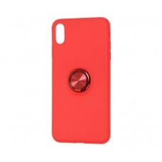 Силиконовый чехол для iPhone X / Xs Summer Coloring Красный