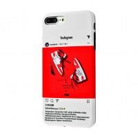"Чехол для iPhone 7 Plus / 8 Plus IMD ""Yang Style 12"" Insta Jordan 1"