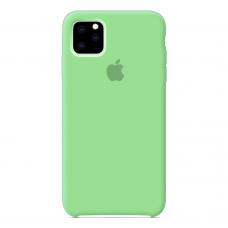 Силиконовый чехол Apple Silicone Case Salad для iPhone 11 Pro Max