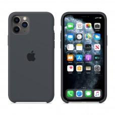 Силиконовый чехол Apple Silicone Case Charcoal Grey для iPhone 11 Pro