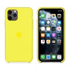 Силиконовый чехол Apple Silicone Case Flash для iPhone 11 iPhone 11 Pro