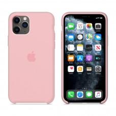 Силиконовый чехол Apple Silicone Case Light Pink для iPhone 11Pro