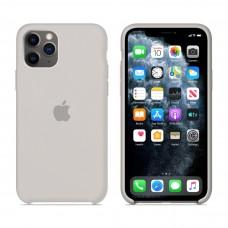 Силиконовый чехол Apple Silicone Case Stone для iPhone 11Pro