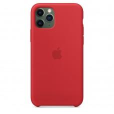 Силиконовый чехол Apple Silicone Case Red для iPhone 11Pro