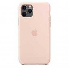 Силиконовый чехол Apple Silicone Case Pink Send для iPhone 11Pro