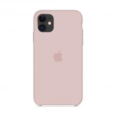 Силиконовый чехол Apple Silicone Case Pink Sand для iPhone 11